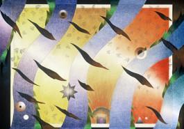 """Sunswath II, 18"""" x 24"""", 1981"""