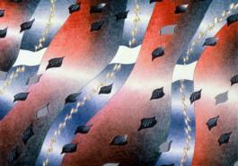 """Zingswath / Solstice, 18"""" x 24"""", 1981"""