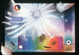 "South Pond Ultraradiant, 17"" x 23"", 1987"