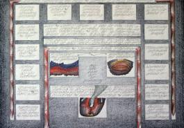 "Surround II, 18"" x 24"", 1977"
