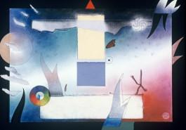 "Light Path Dream, 17"" x 23"", 1987"
