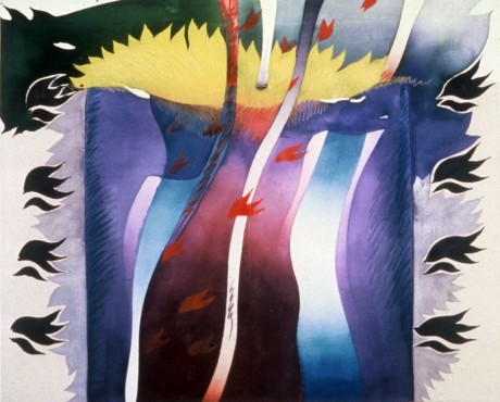 """Foot Prince / The Force, 56"""" x 68"""", 1981"""