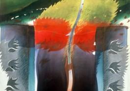 """Foot Prince III, 56"""" x 68"""", 1981"""