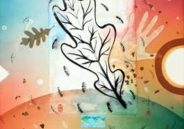 """Flora Kingdom, 36"""" x 24"""", 2013"""