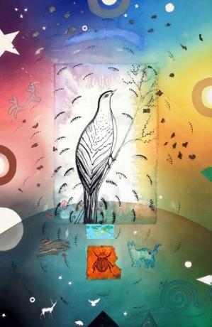 """Fauna Kingdom, 36"""" x 24"""", 2013"""