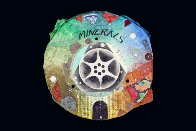 """Mineral Kingdom, 18"""" x 18"""", 2011"""